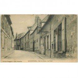 carte postale ancienne 80 MONDIDIER. La Poste Rue Le Caron 1915