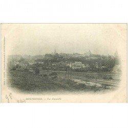 carte postale ancienne 80 MONTDIDIER. 1904 Vue sur la Voie Ferrée