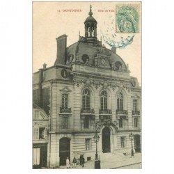 carte postale ancienne 80 MONTDIDIER. Hôtel de Ville et Tapissier