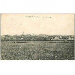 carte postale ancienne 84 AUBIGNAN. Vue du Village 1923