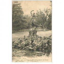 carte postale ancienne 84 AVIGNON. La Vénus aux Hirondelles 1903 Rocher des Doms