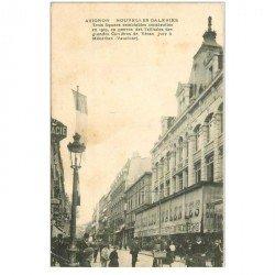 carte postale ancienne 84 AVIGNON. Les Nouvelles Galeries 1909