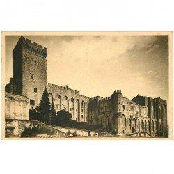 carte postale ancienne 84 AVIGNON. Palais des Papes 1932