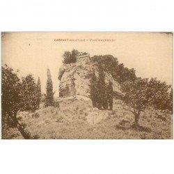 carte postale ancienne 84 CADENET. Ancien Château