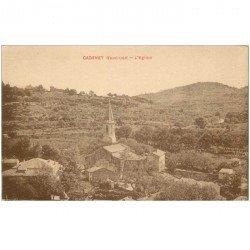 carte postale ancienne 84 CADENET. L'Eglise