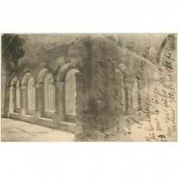 carte postale ancienne 84 CAVAILLON. Le Cloître 1926