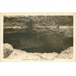 carte postale ancienne 84 FONTAINE DE VAUCLUSE. La Fontaine Basse
