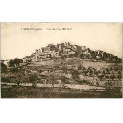 carte postale ancienne 84 GORDES. Le Village