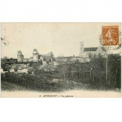carte postale ancienne 85 APREMONT. Le Village 1928