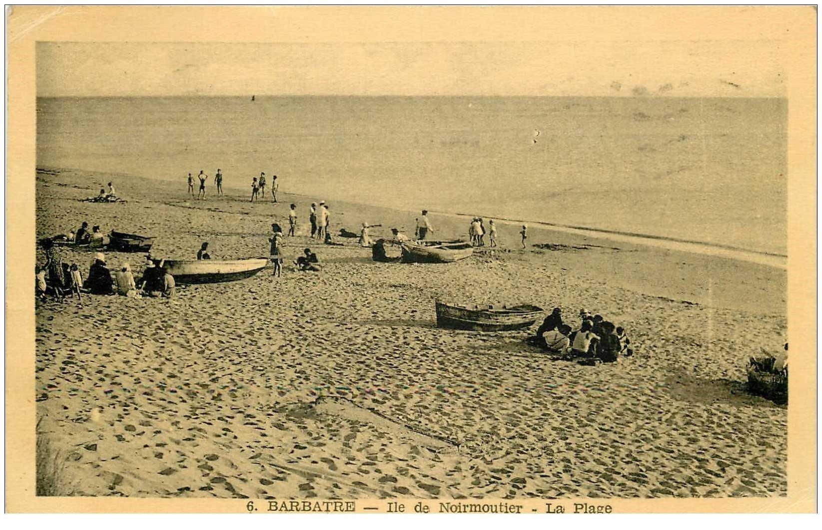 85 BARBATRE. Ile de Noirmoutier la Plage 1949