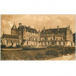 carte postale ancienne 85 FONTENAY LE COMTE 1933. Le Château de Terre-Neuve. Edition Bergevin