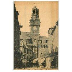 carte postale ancienne 14 VIRE. Portail rue de Neutbourg