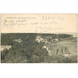 carte postale ancienne 85 ILE DE NOIRMOUTIER. Anse des Souzeaux 1905