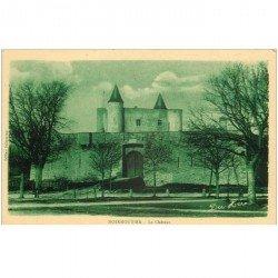 carte postale ancienne 85 ILE DE NOIRMOUTIER. Le Château