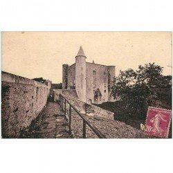carte postale ancienne 85 ILE DE NOIRMOUTIER. Le Château vers 1922