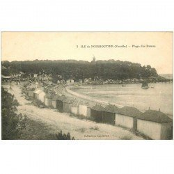 carte postale ancienne 85 ILE DE NOIRMOUTIER. Plage des Dames Vendée