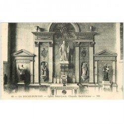 carte postale ancienne 85 LA ROCHE SUR YON. Eglise Saint Louis Chapelle Saint Lienne
