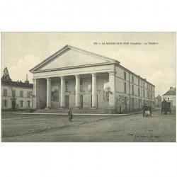 carte postale ancienne 85 LA ROCHE SUR YON. Le Théâtre