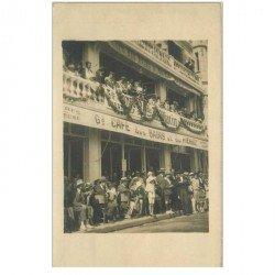 carte postale ancienne 85 LES SABLES D'OLONNE. Grand Café des Bains et du Pierrot. Photo Carte Postale