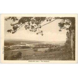 carte postale ancienne 01 Bublanc et Bublane. Vue générale vers 1940