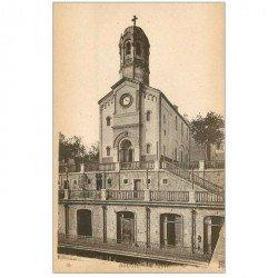 carte postale ancienne Algérie. BOUGIE. L'Eglise