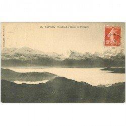 carte postale ancienne Algérie. KABYLIE. Brouillard et Chaîne du Djurdjua 1912