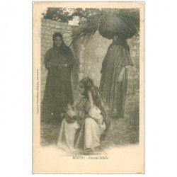 carte postale ancienne Egypte. Femmes Fellahe 1902