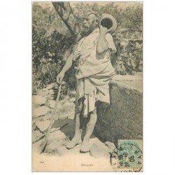 carte postale ancienne Maroc. Un Marocain Porteur d'eau 1905