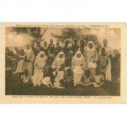 carte postale ancienne ANGOLA. Petites Servantes du Sacré Coeur Missionnaires Cathéchistes des Noirs
