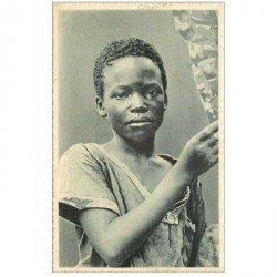 carte postale ancienne CONGO. Jeune Congolais de Kisantu