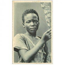 carte postale ancienne GABON. Jeune Congolais de Kisantu