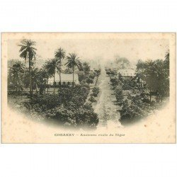 carte postale ancienne GUINEE. Conakry. Ancienne Route du Niger vers 1900