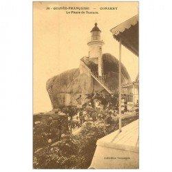 carte postale ancienne GUINEE. Conakry. Le Phare de Tamara