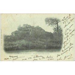 carte postale ancienne 02 MOLINCHART. Mont Celtique Hottée de Gargantua 1903