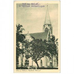 carte postale ancienne TANZANIE. Dar-es-Salaam Eglise Catholique