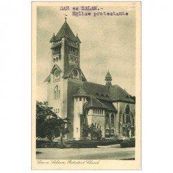 carte postale ancienne TANZANIE. Dar-es-Salaam Eglise Protestante