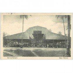 carte postale ancienne TANZANIE. Dar-es-Salaam New Market