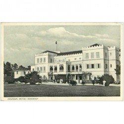 carte postale ancienne TANZANIE. Zanzibar British Residency