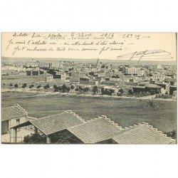 carte postale ancienne TUNISIE. Bizerte la Nouvelle Ville 1916