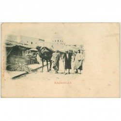 carte postale ancienne Tunisie. KAIROUAN vers 1900