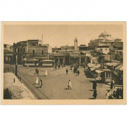 carte postale ancienne Tunisie. TUNIS. Bab Souïka