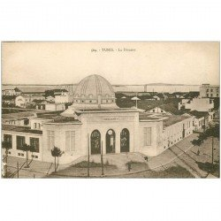 carte postale ancienne Tunisie. TUNIS. La Douane