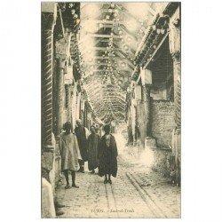 carte postale ancienne Tunisie. TUNIS. Souk el Trouk