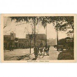 carte postale ancienne ARGENTINA. Buenos Aires. Paseo Colon