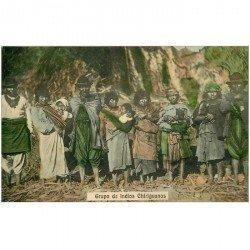carte postale ancienne ARGENTINE ARGENTINA. Grupo de Indios Chiriguanos. Impeccable et vierge