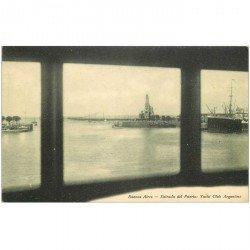 carte postale ancienne ARGENTINE. Buenos Aires. Entrada del Puerto Yacht Club