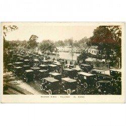 carte postale ancienne ARGENTINE. Buenos Aires. Palermo voitures anciennes sur le Corso.