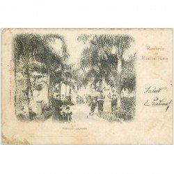 carte postale ancienne ARGENTINE. Buenos Aires. Parque Lezama 1901