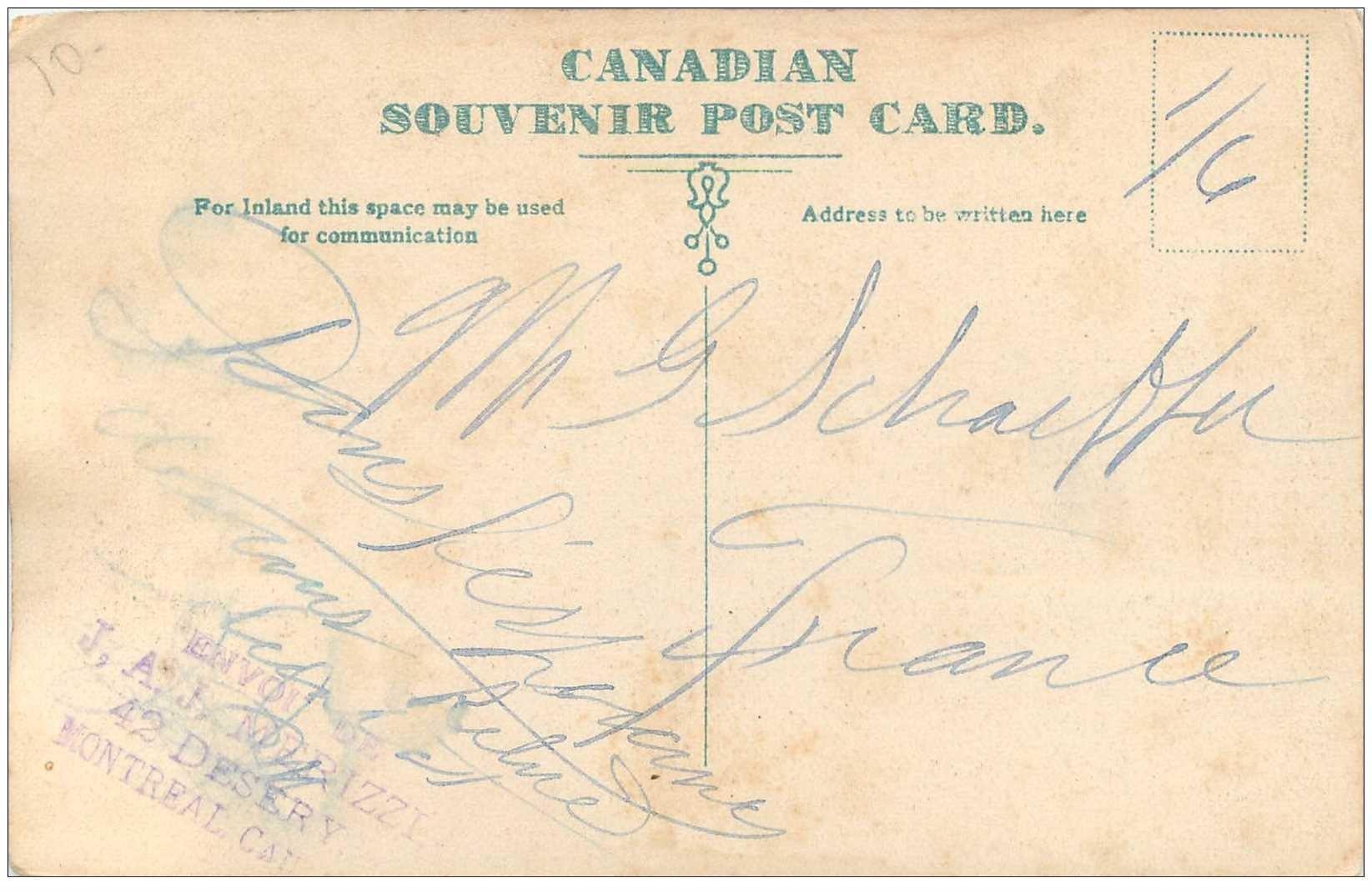 CANADA. Emerrald Peak Lake near Fielb B.C. on Canadian Pacific Railway