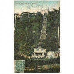carte postale ancienne MONTREAL. Mount Royal Elevator 1907